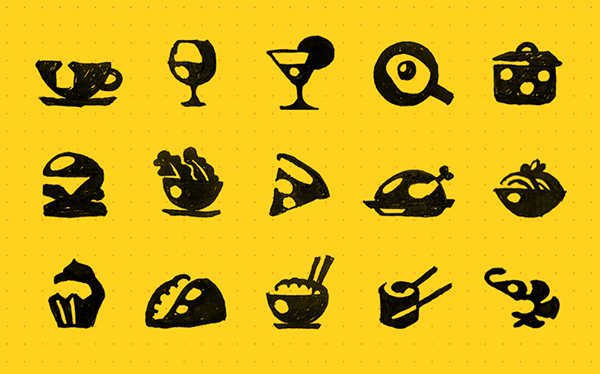 Amazing Restaurant Icon collection
