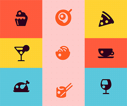 Free Download Amazing Restaurant Icon collection