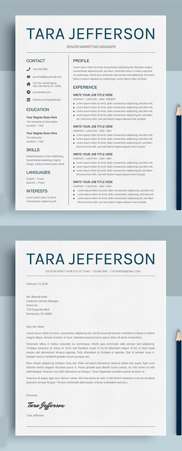 Google Docs Resume / CV Template