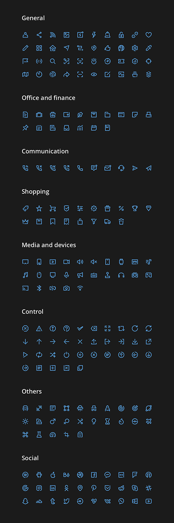 Creative Vector Icon Collection