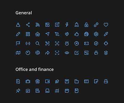 Post thumbnail of 200 Creative Vector Icon Collection Free Download