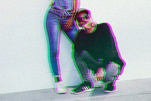 Awesome Action Glitch For Photoshop