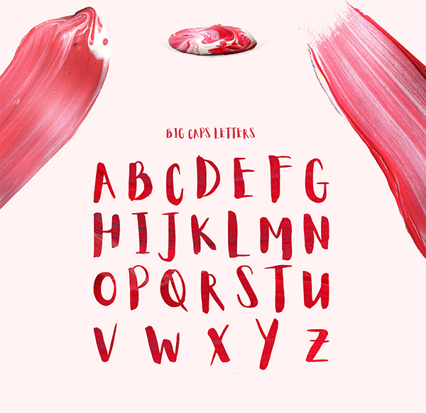Awesome Aloja Brush Font For Designers