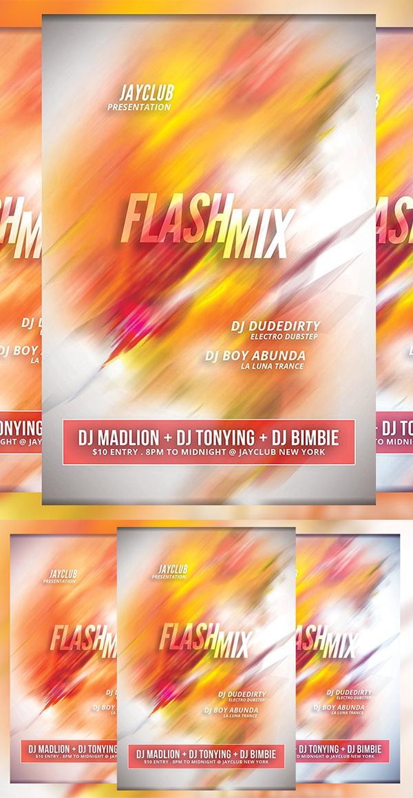 Flash Mix Flyer Template