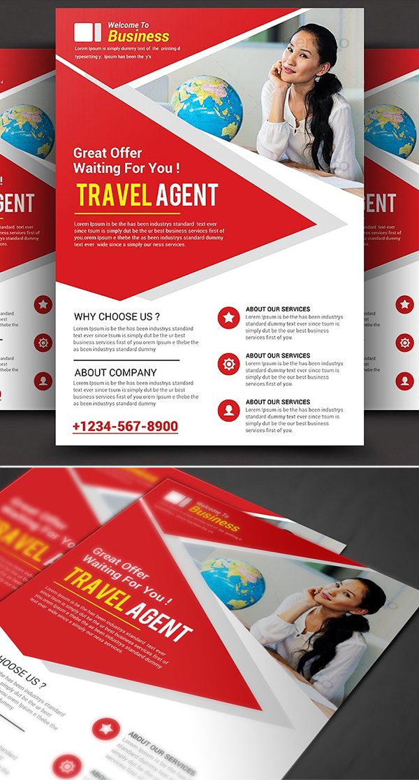 Travel Agency Corporate Flyer