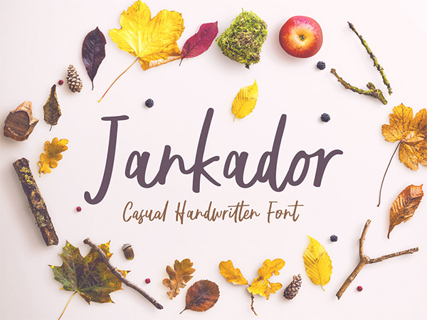 Jankador Handwriting Free Font