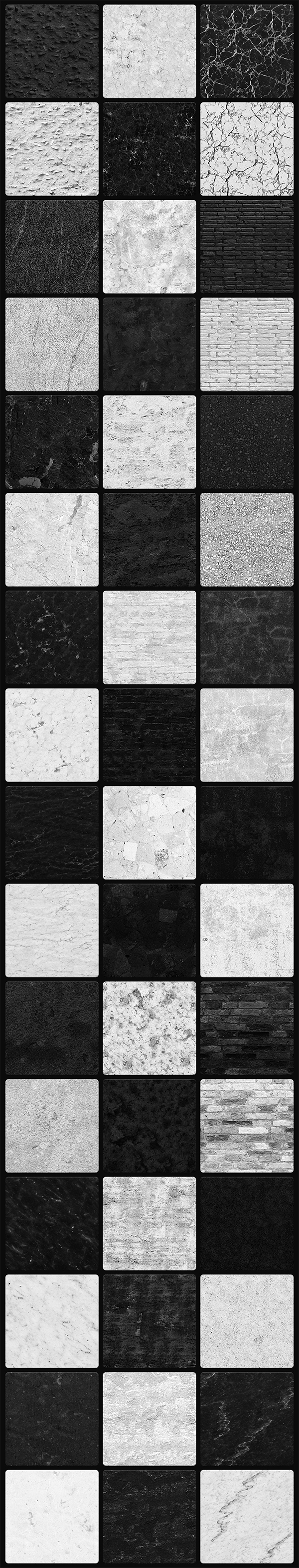 Black & White Awesome Textures