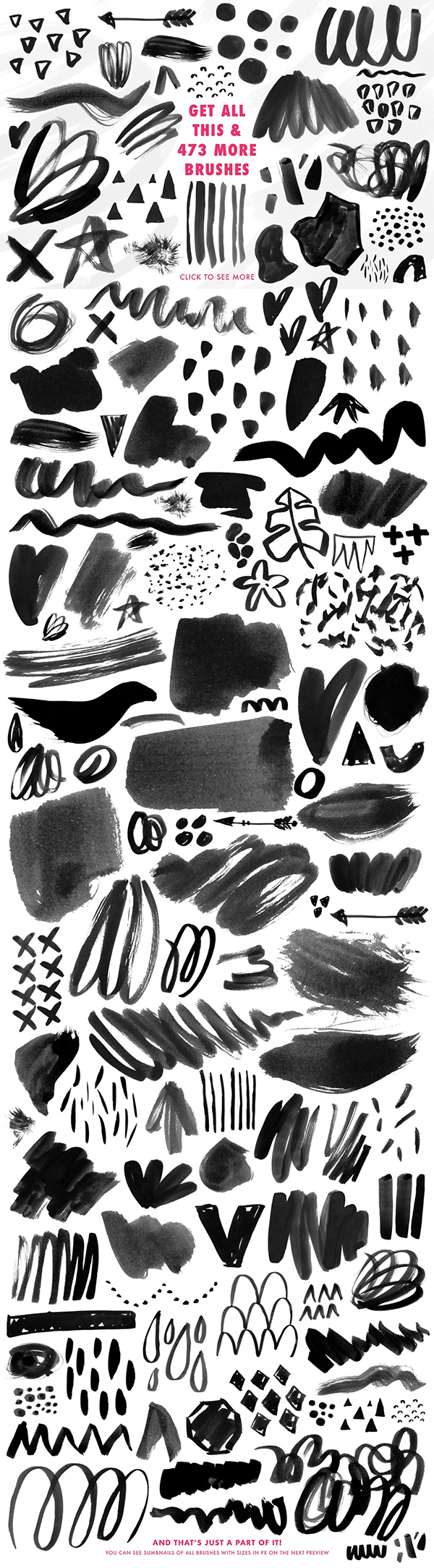 Fantastic Photoshop Brushes With Texture