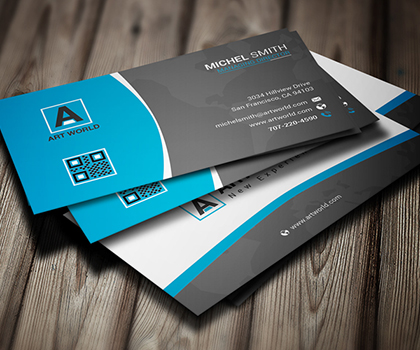 Business cards design blog part 2 25 free business card templates free download reheart Image collections