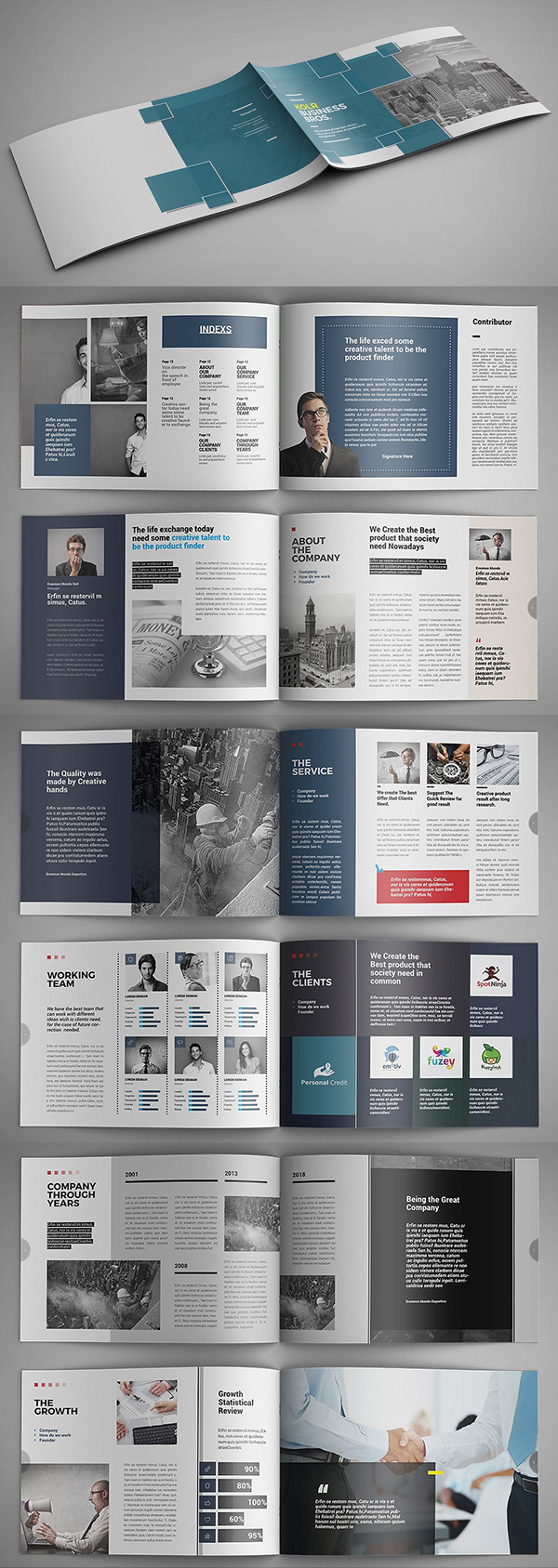 100 Professional Corporate Brochure Templates - 71