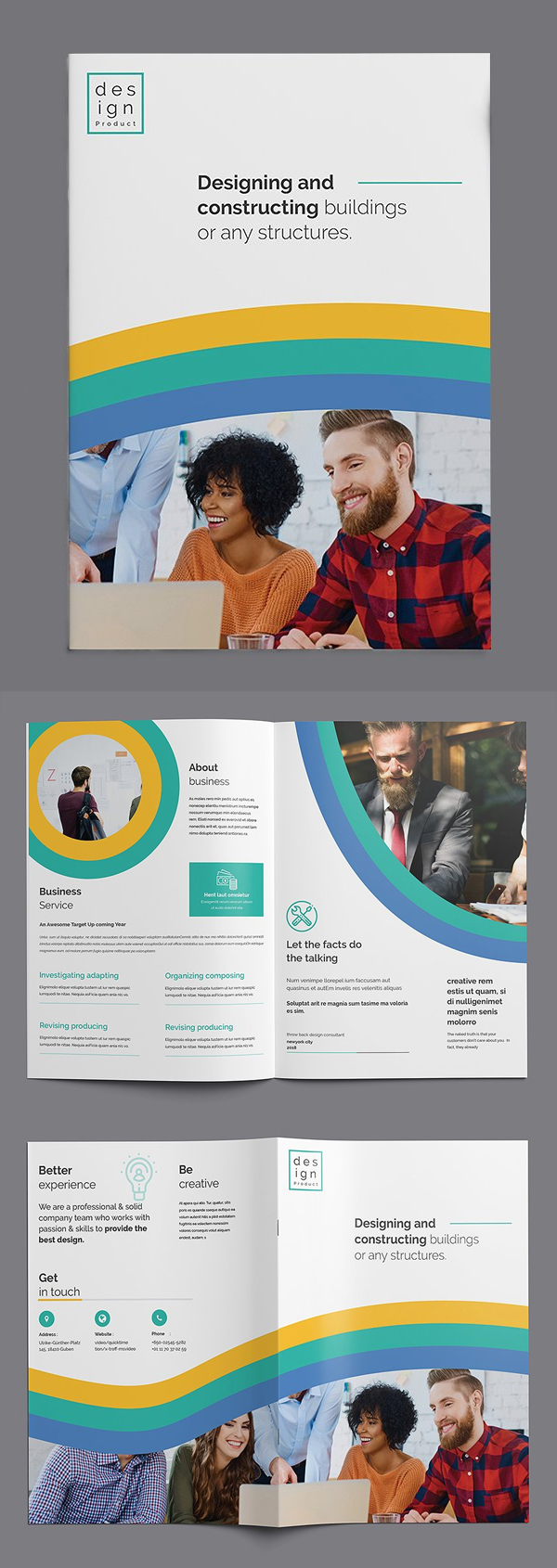 Bi Fold Multipurpose Brochure