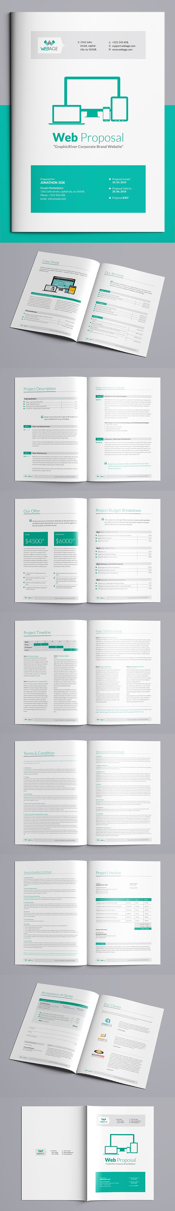 100 Professional Corporate Brochure Templates - 72