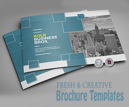 Collection of Latest & Creative Multi-purpose Brochure Templates Design
