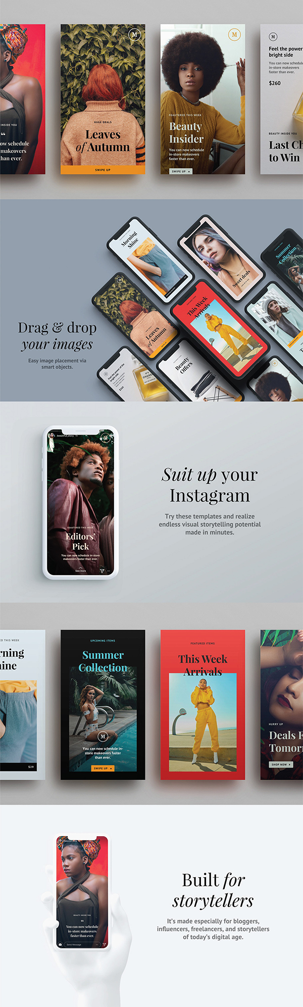 Awesome Instagram Stories Templates