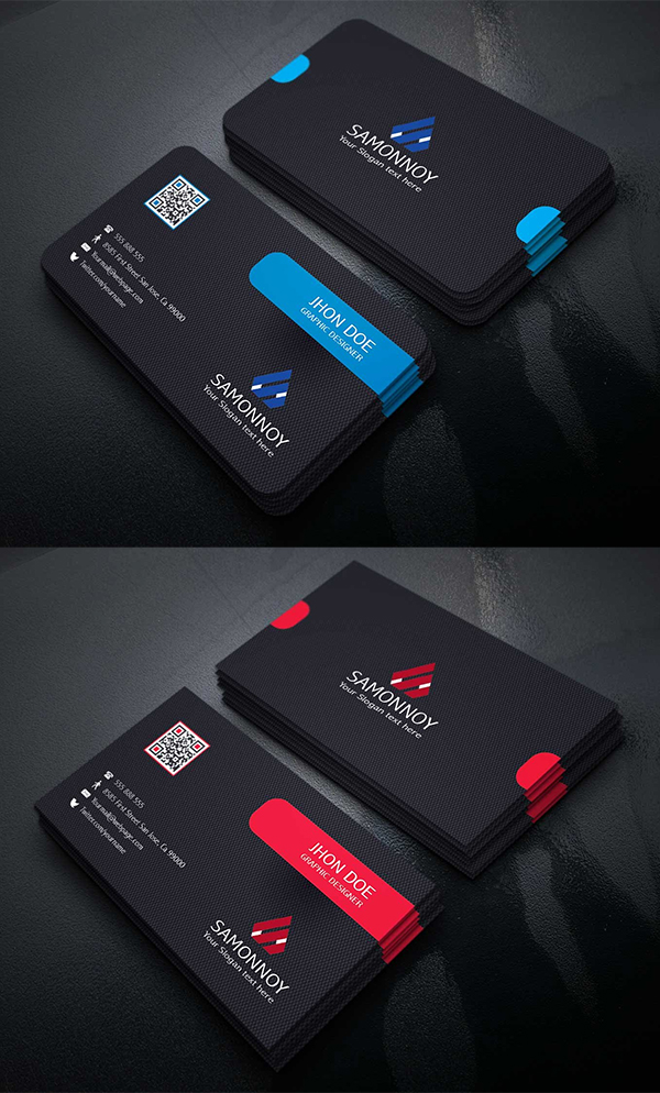 Elegant Business Cards Template