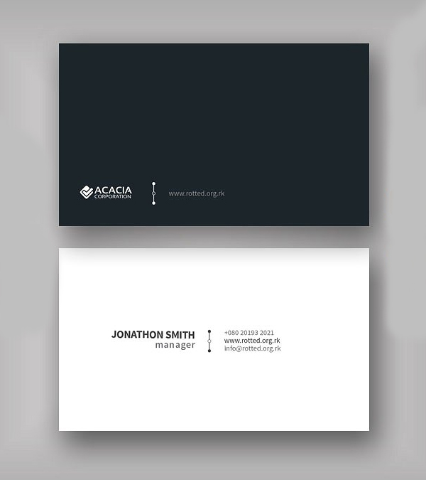Abde Business Card