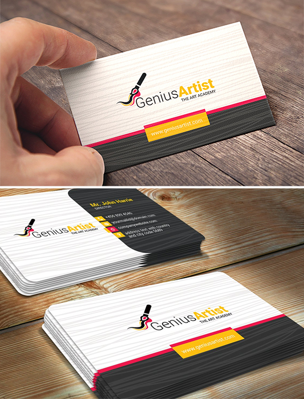 Business Card for Artist & Painter