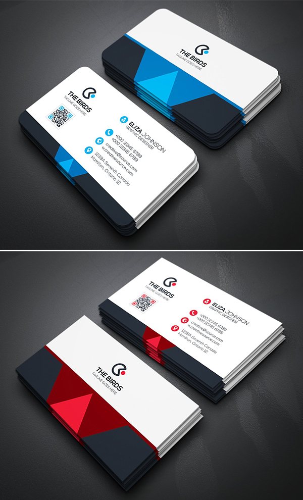 Simple & Clean Business Card Template