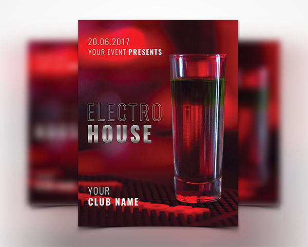Awesome Red Flyer Template