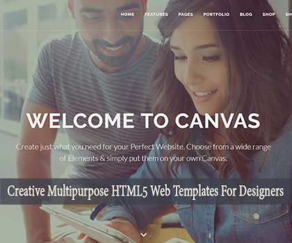 Best & Creative Multi-purpose HTML5 Web Templates For Designers