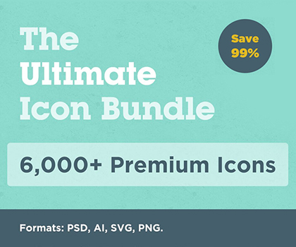Post thumbnail of Big Bundle 6000+ Premium Icons Bundle For Creative Designers