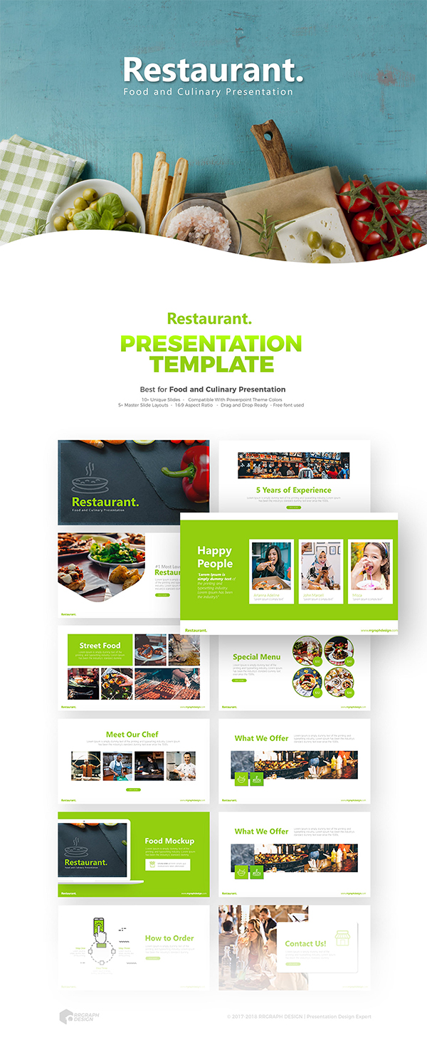Restaurant Powerpoint Template