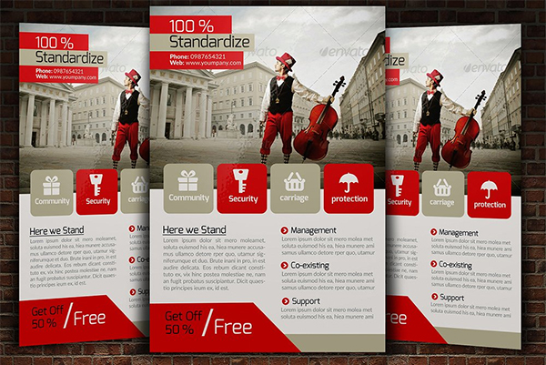 Elegant Flyer Psd Template