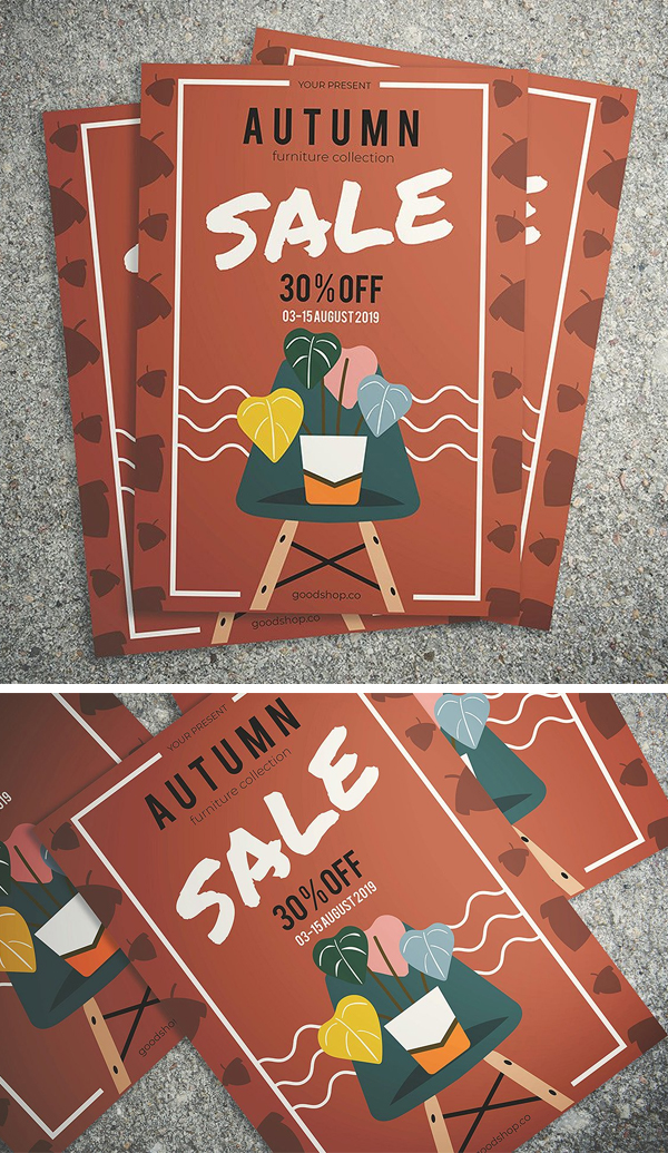 Autumn Furniture Sale Flyer