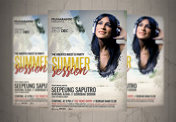 Summer Session Flyer / Poster