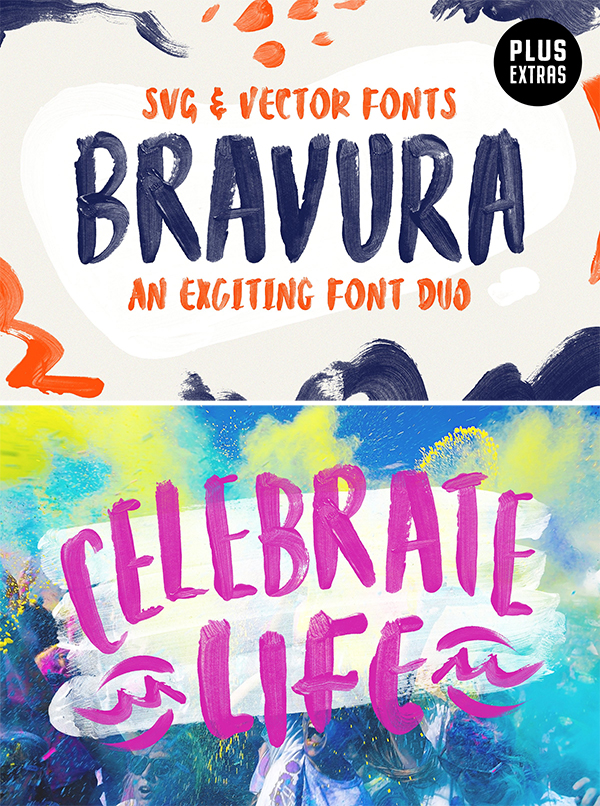 Bravura SVG Font Duo & Extras