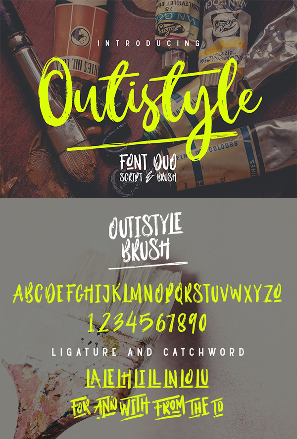 Outistyle Font Duo