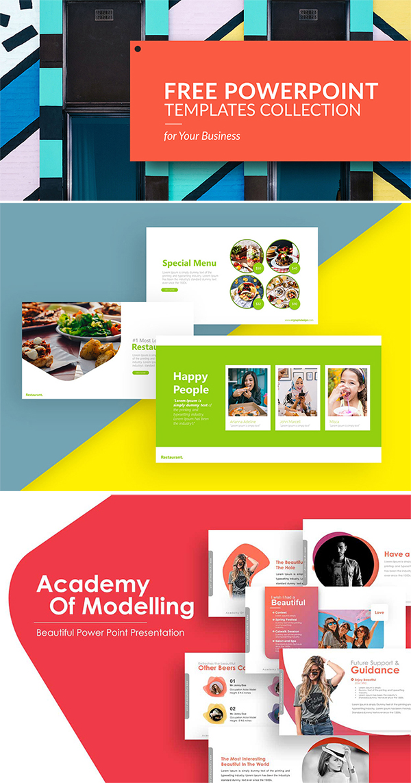Awesome Presentation PowerPoint Templates Collection Free Download