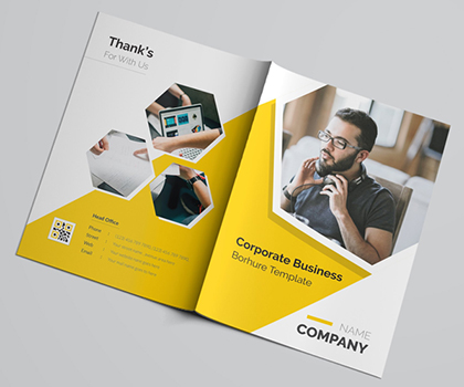 Awesome Multi-purpose Brochures And Flyers Template Design