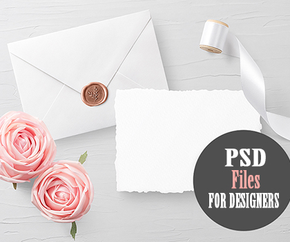 Elegant & Creative PSD Files For Designers