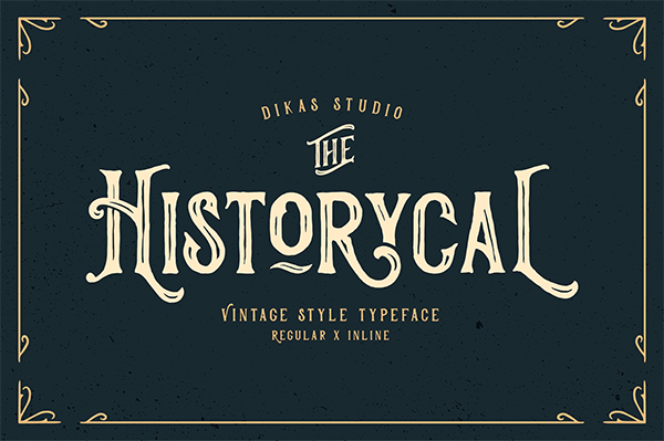 Historycal Font Style