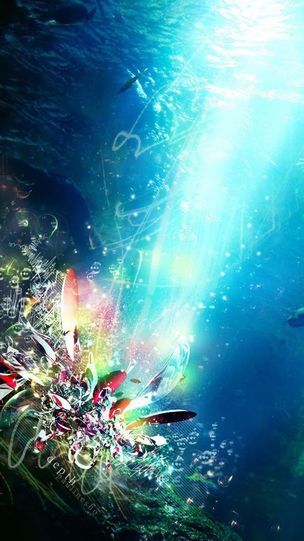 How to Create an Underwater Abstract Art in Photoshop