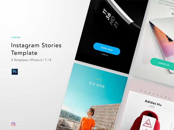 Freebie - Instagram Story Template