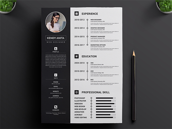 Resume Concept Design || Resume Download