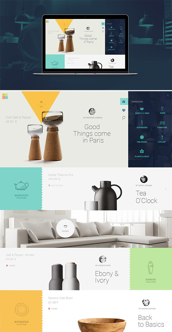 Free Warehouse Web Template PSD