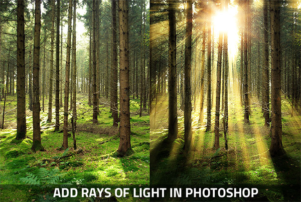 How To Create Realistic Rays Of Light In Photoshop