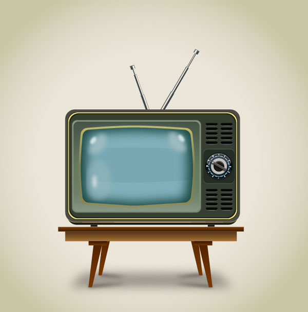 How to Create a Vintage Television in Adobe Illustrator