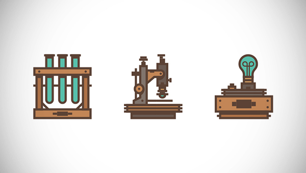 How to Create a Retro Science-Themed Icon Pack in Adobe Illustrator
