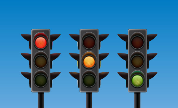 Create a Set of Traffic Lights in Adobe Illustrator