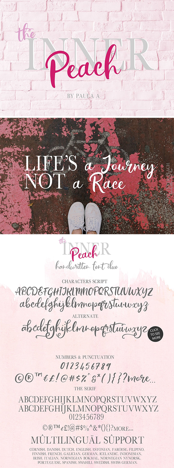 The Inner Peach | Font