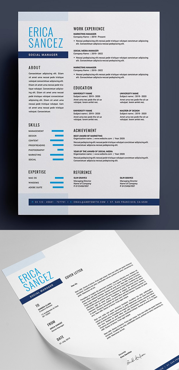 Clean, Modern and Professional Resume