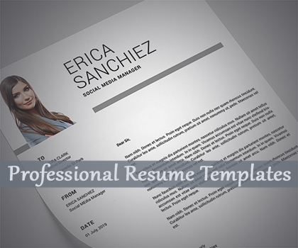 Latest Professional Resume Templates