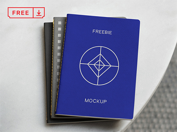 Notebook Psd Mockup