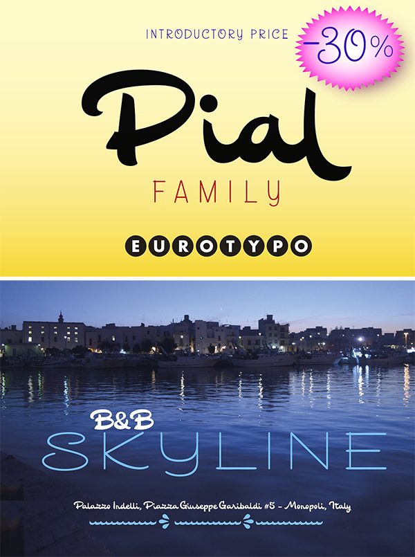 Pial Family Font