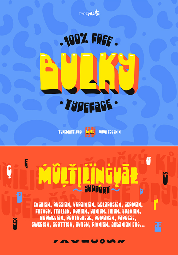 Free Bulky Font