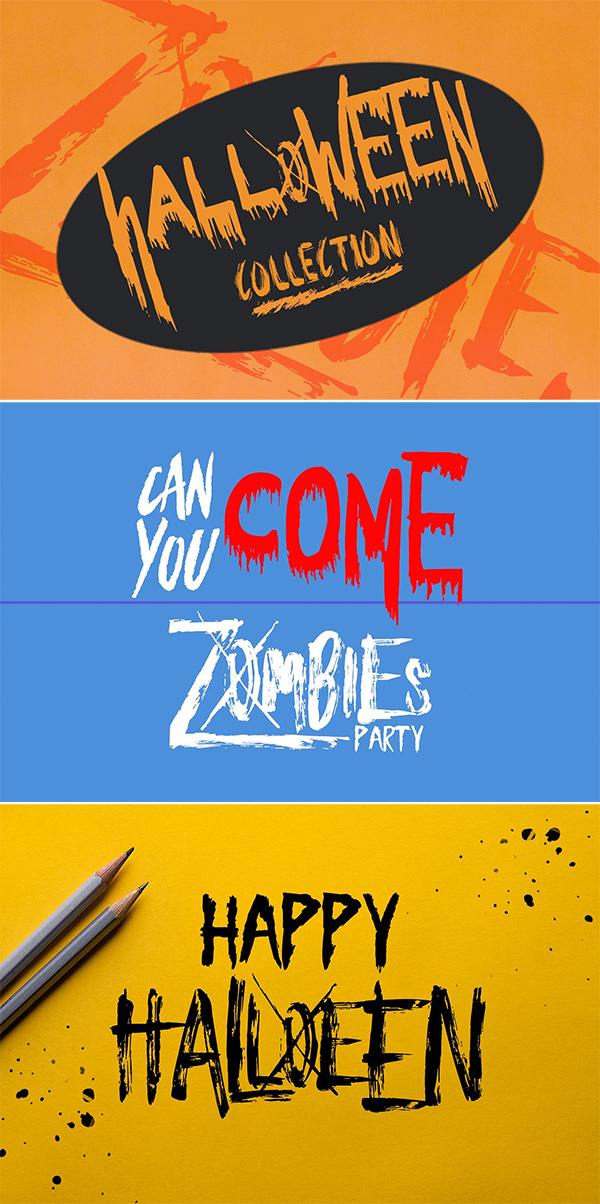 Halloween Collection Font